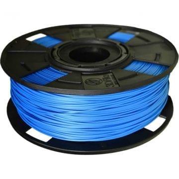 Carretel de Filamento PLA azul EasyFill sky 3D Fila - Imagem com 1kg de material para impressora 3d
