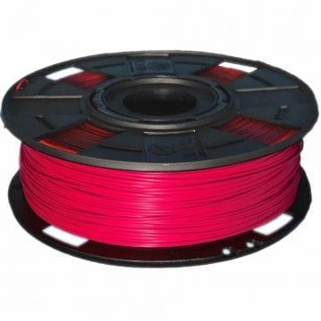 Carretel de Filamento PLA Vermelho EasyFill Cherry 3D Fila - Imagem com 1kg de material para impressora 3d