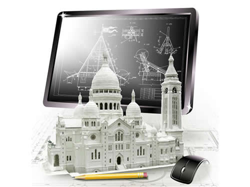 Miniatura de construção sacre ceur de paris
