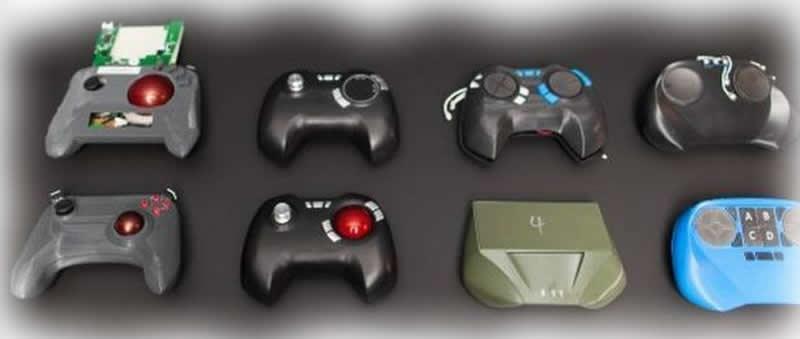 Prototipagem de controles joysticks