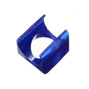 suporte na cor azul para cooler direcional de impressora 3d ideal para pla