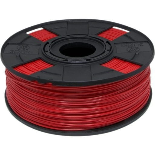 Filamento ABS Vermelho Aranha 1,75mm para Impressão 3D