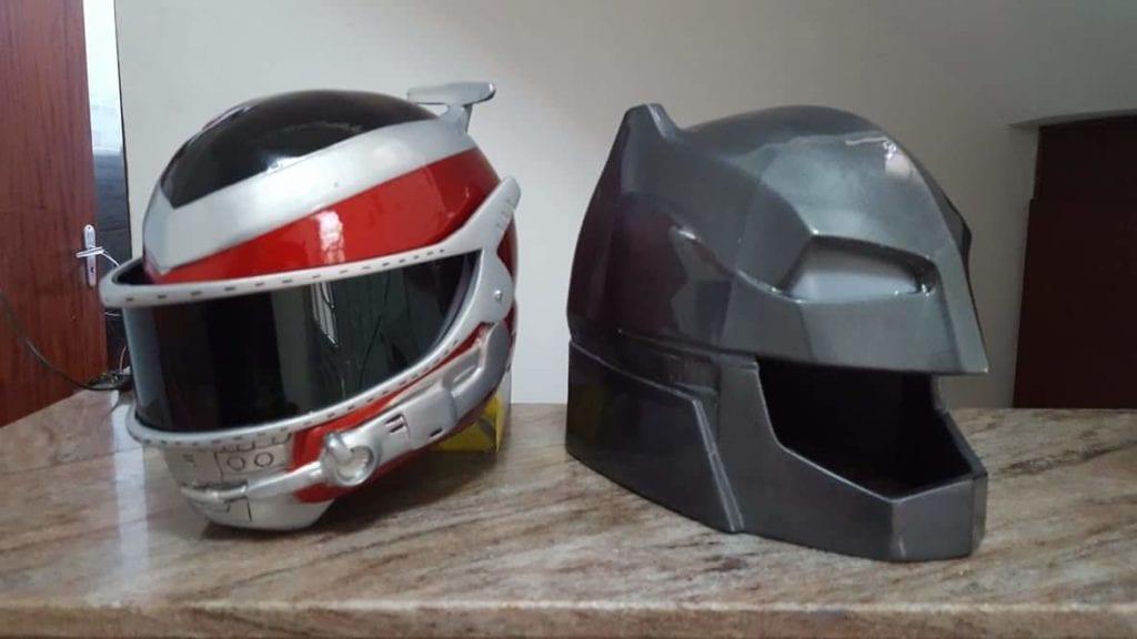 Helmet Winspector e Batman